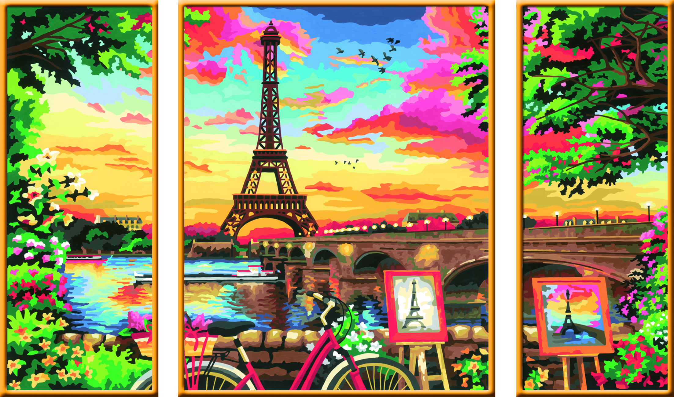 Ravensburger Malen nach Zahlen Serie Premium Triptychon - Wellness