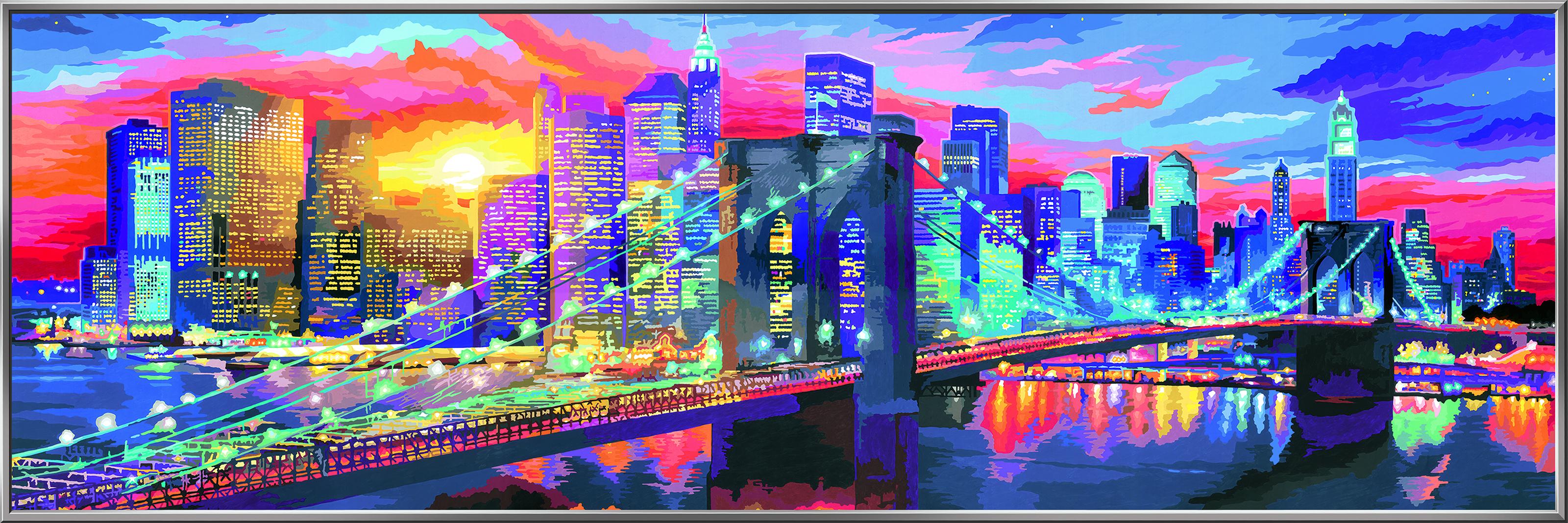 Ravensburger Malen nach Zahlen Leuchtendes New York