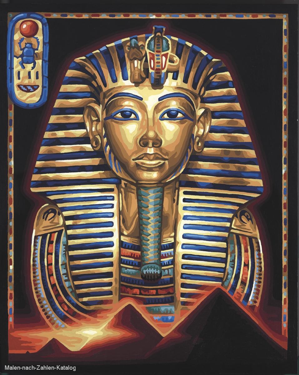 Schipper Malen nach Zahlen - Die Maske des Tut-Anch-Amun
