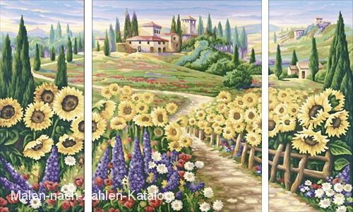 Schipper Malen nach Zahlen - Sommer in der Toskana