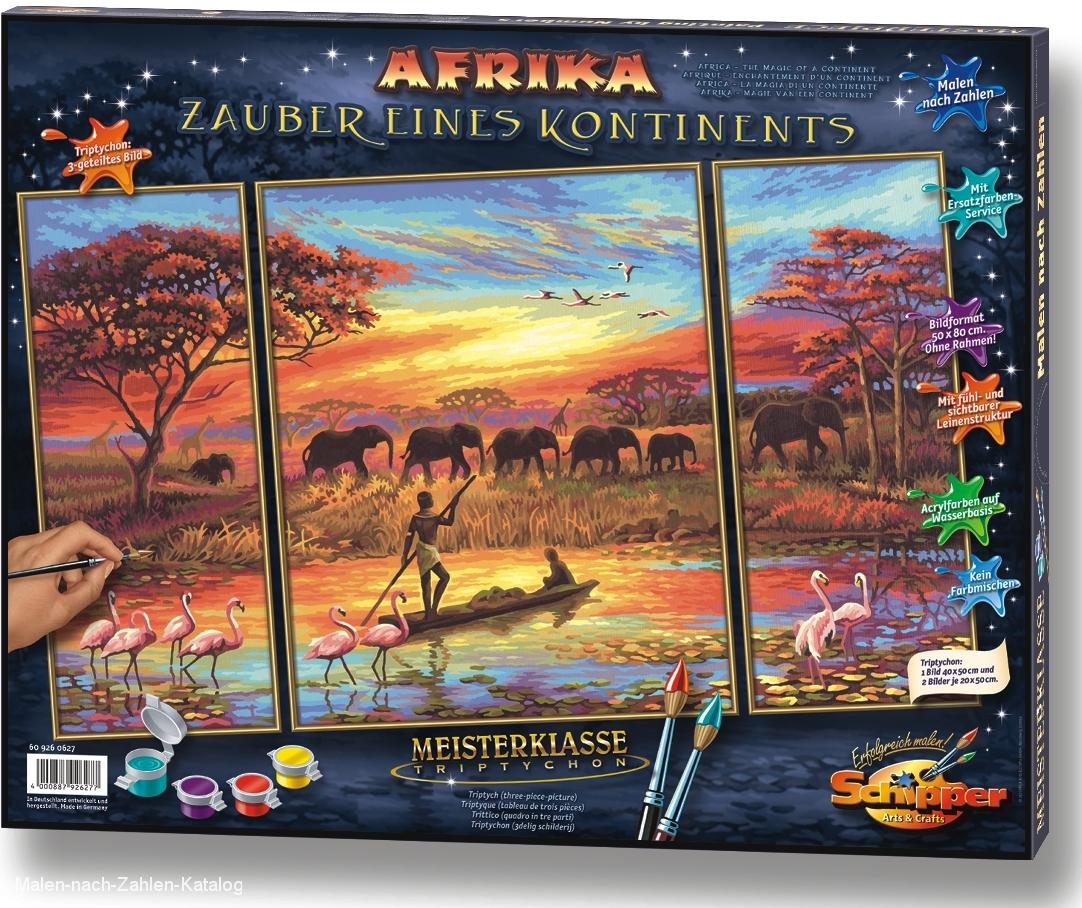 Schipper Malen nach Zahlen - Afrika - Zauber eines Kontinents