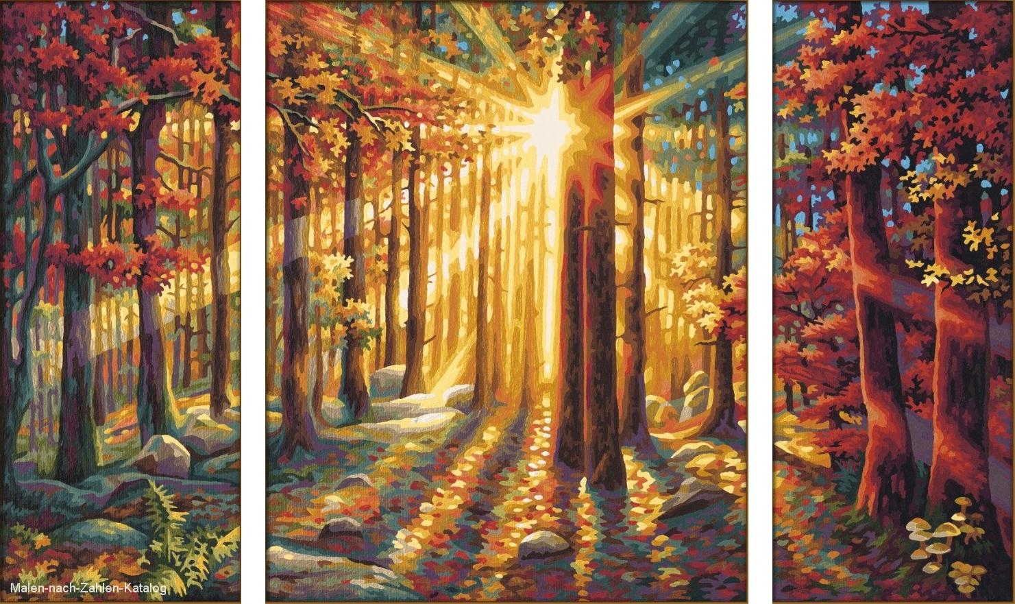 Herbstwald Malen Nach Zahlen Katalog