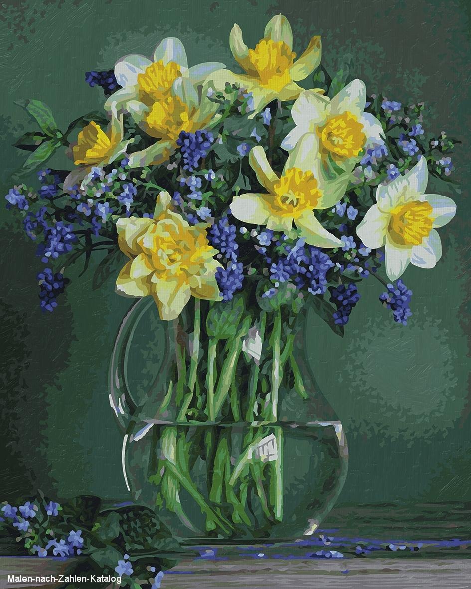 Schipper Malen nach Zahlen 40x50cm Frühlingsblumen