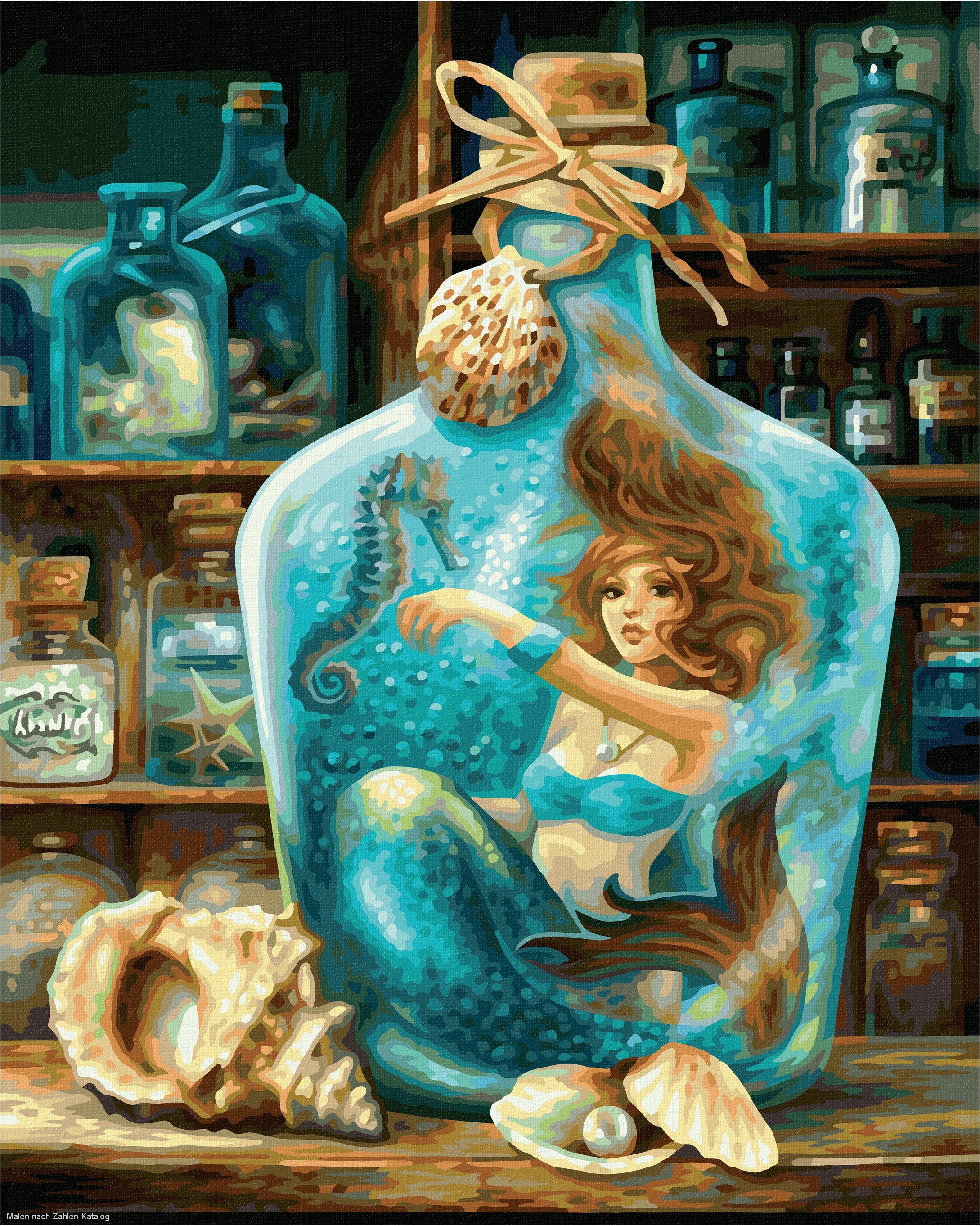 Schipper Malen nach Zahlen Premium 40 x 50 cm - Die Meerjungfrau