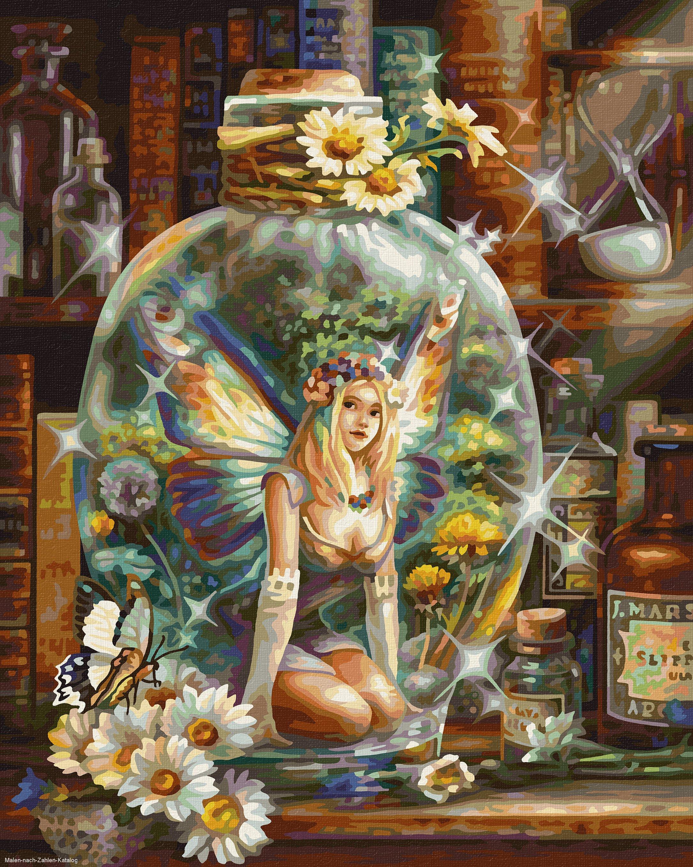 Schipper Malen nach Zahlen Premium 40 x 50 cm - Die Schmetterlingsfee