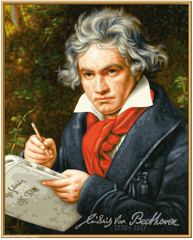 Schipper Malen nach Zahlen Meisterklasse Premium - Ludwig van Beethoven