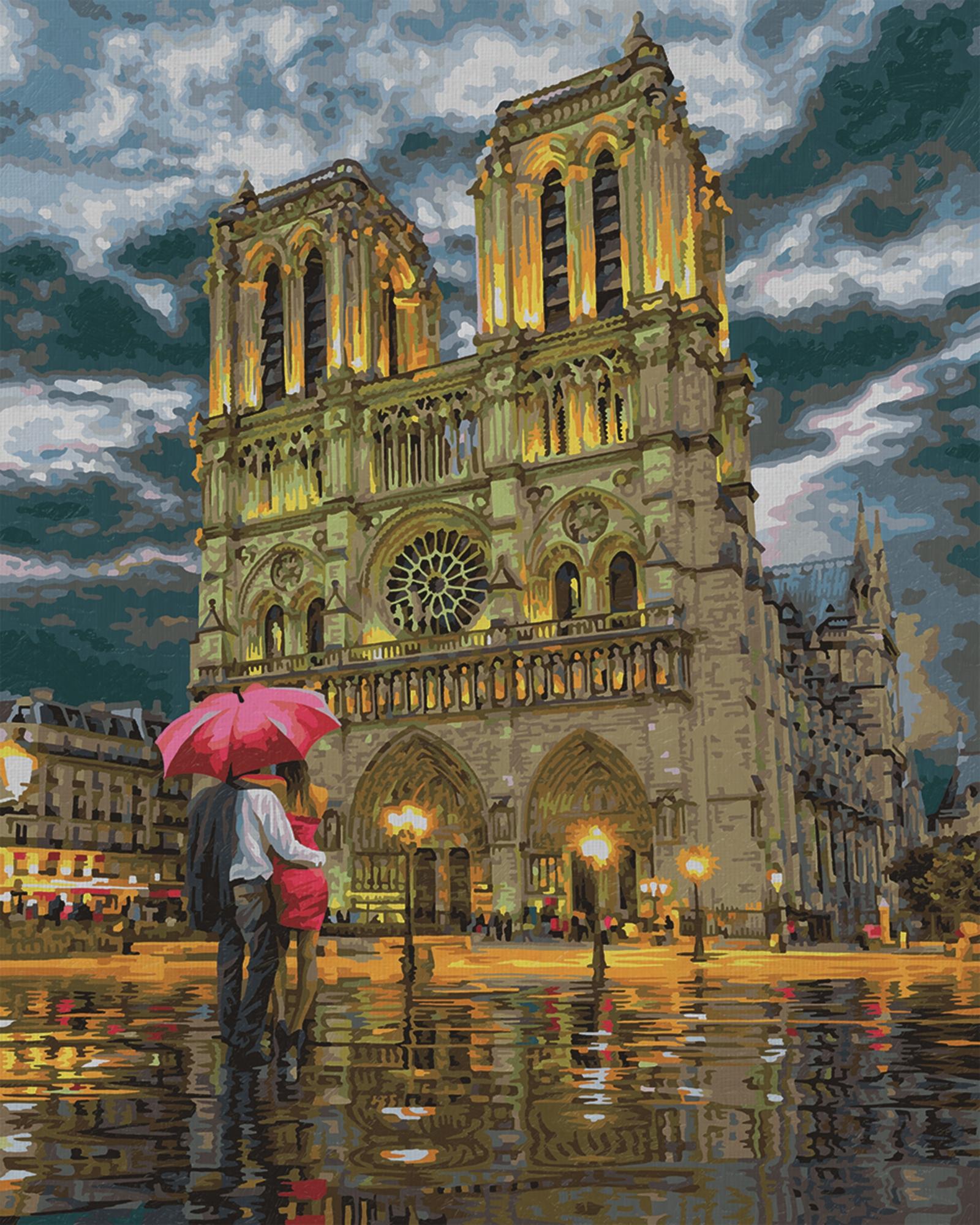 Schipper Malen nach Zahlen Premium 40 x 50 cm - Notre Dame