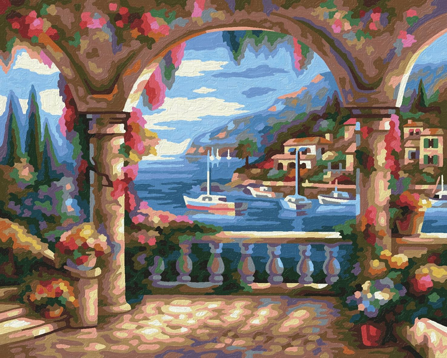 Schipper Malen nach Zahlen Klassiker 24 x 30 cm - Villa am Meer