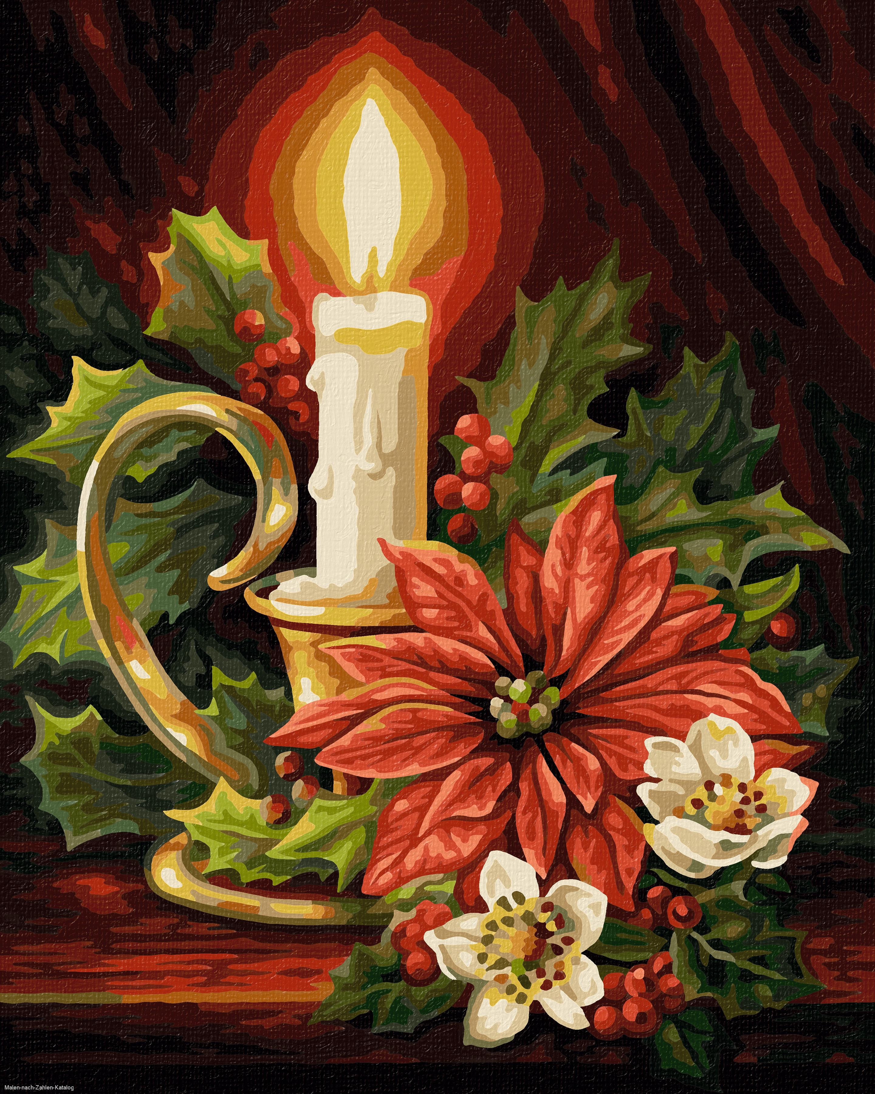 Schipper Malen nach Zahlen Klassiker 24 x 30 cm - Weihnachten